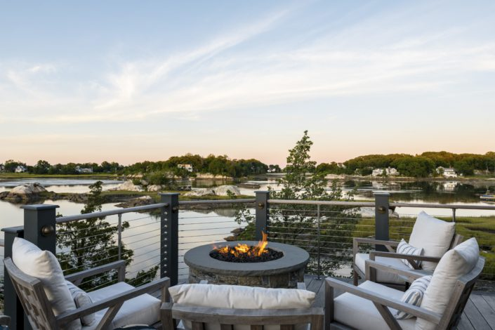 Little Harbor, Cohasset - Deck seating