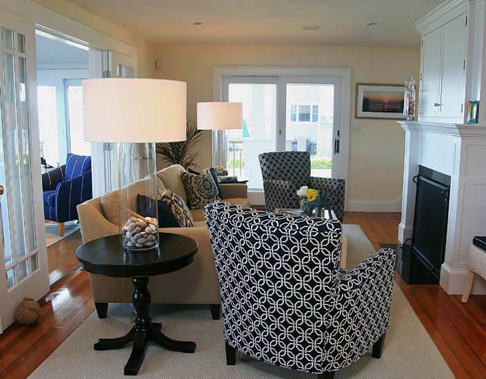 Beach House - Scituate MA - Living Room