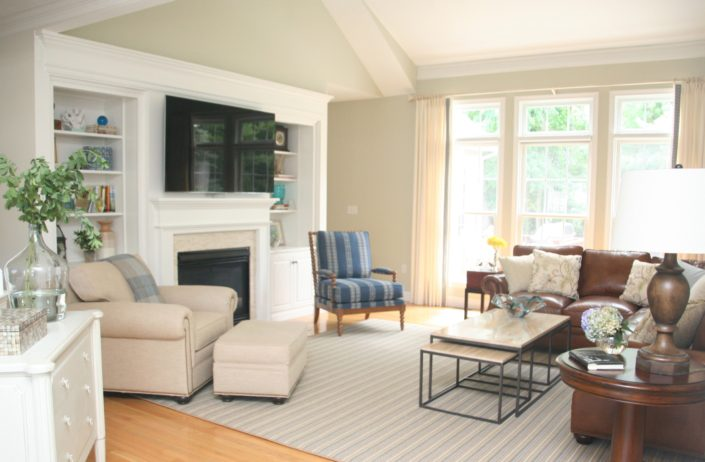Norwell MA - Living Room