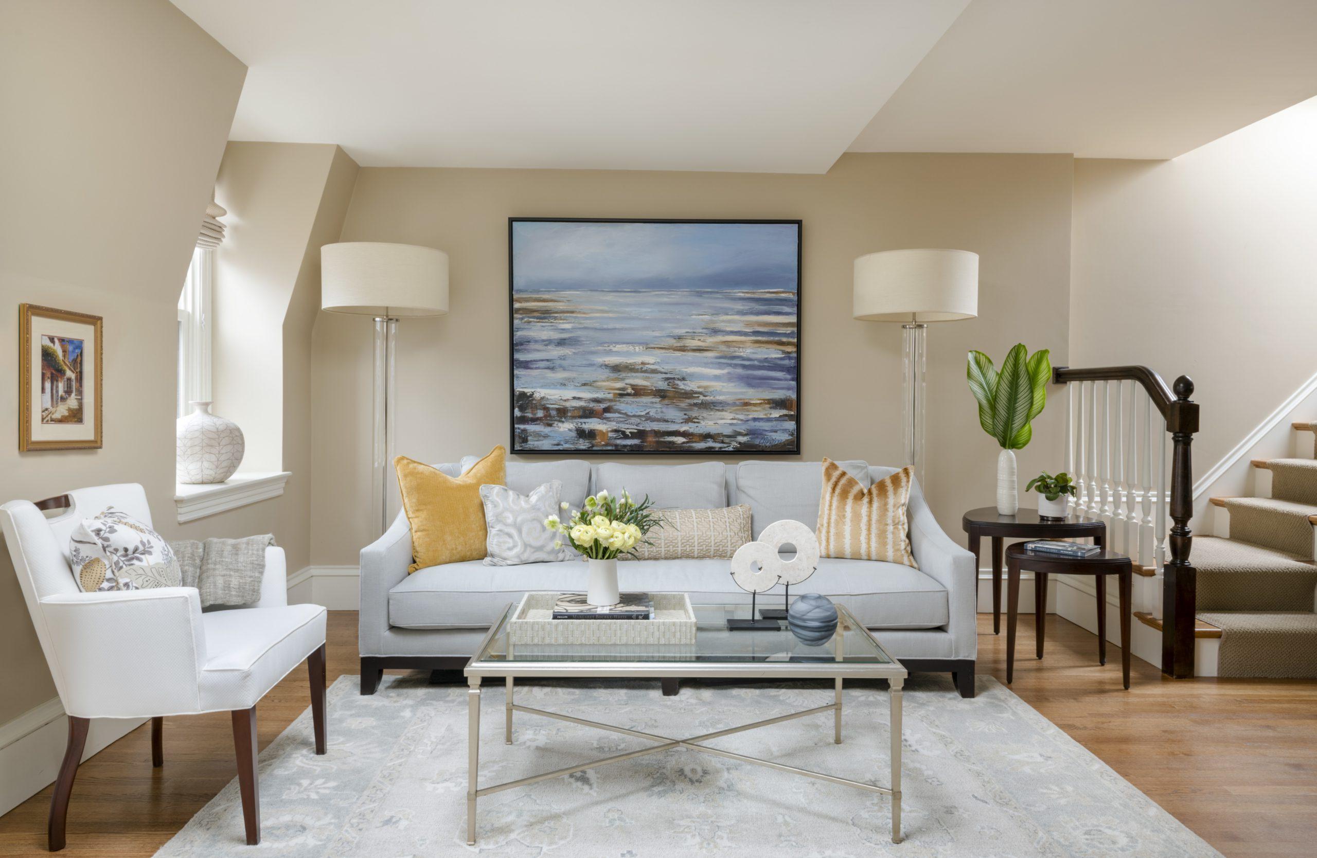 Living Room - Boston Brownstone