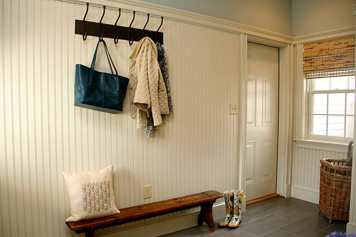 Farm House Addition - Whitman MA - Mud Room