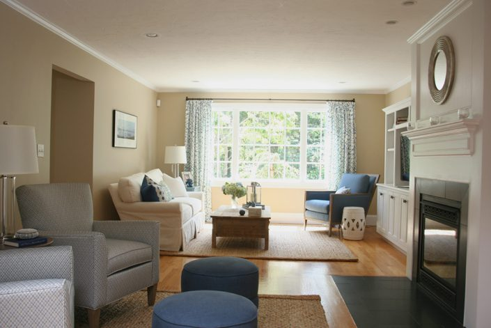 Coastal Inspired Cohasset - Living Room