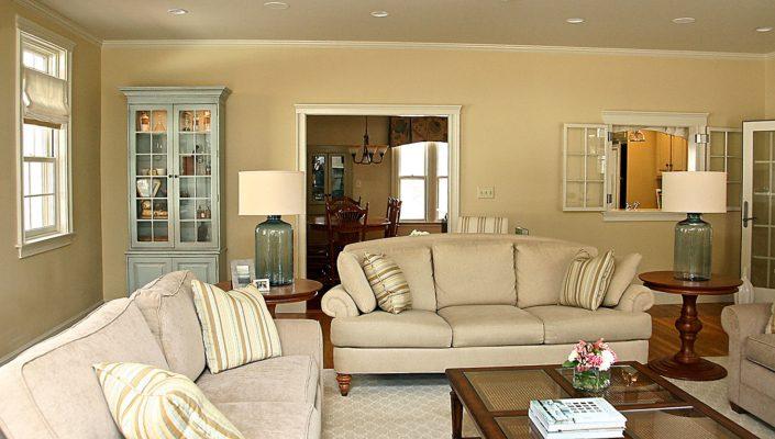Farm House Addition - Whitman MA - Living Room