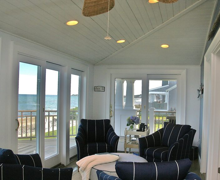 Beach House - Scituate MA - Sitting Area